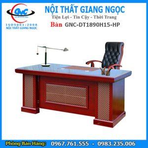 Bán bàn làm việc giám đốc GNC DT1890H15 HP