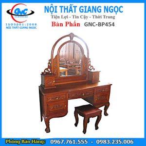 Bán bàn phấn gỗ GNC BP454 giá rẻ