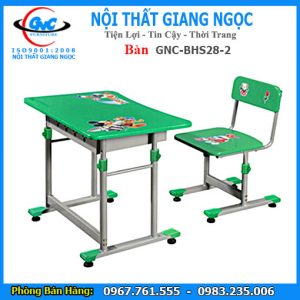 Bán Bàn ghế học sinh BHS28-2 tại Thái Bình