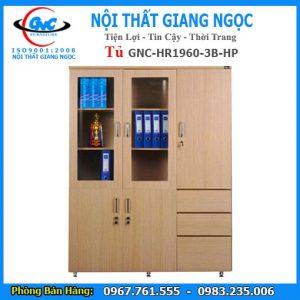 Tủ tài liệu gỗ GNC HR1960 3B HP thái bình