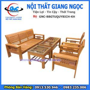 bộ sofa gỗ BBG TỨ QUÝ BÍCH thái Bình