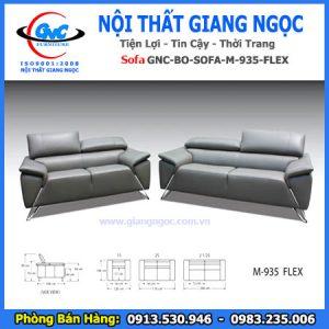 Bộ sofa da nhập khẩu M-935-Flex thái bình